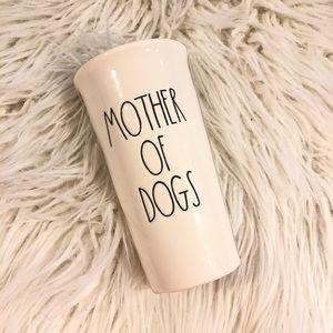"""NWT Rae Dunn """"Mother Of Dogs"""" Travel Coffee Mug"""